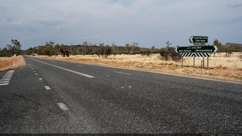 Namatjira Drive & Larapinta Drive