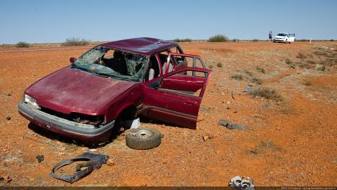 Broken cars
