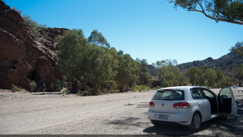 Unsealed road - Flinders Ranges