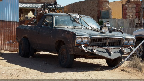 Silverton Mad Max Car