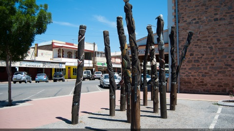 Broken Hill Street Sculptures