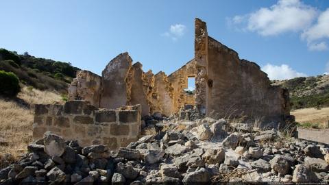 Gaol ruin