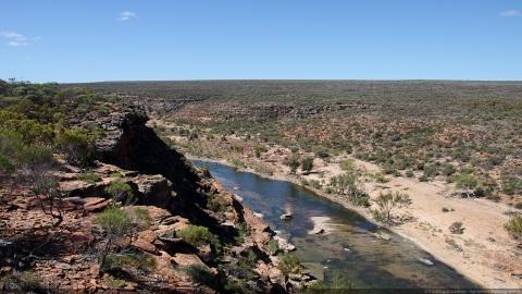 Kalbarri Murchison river